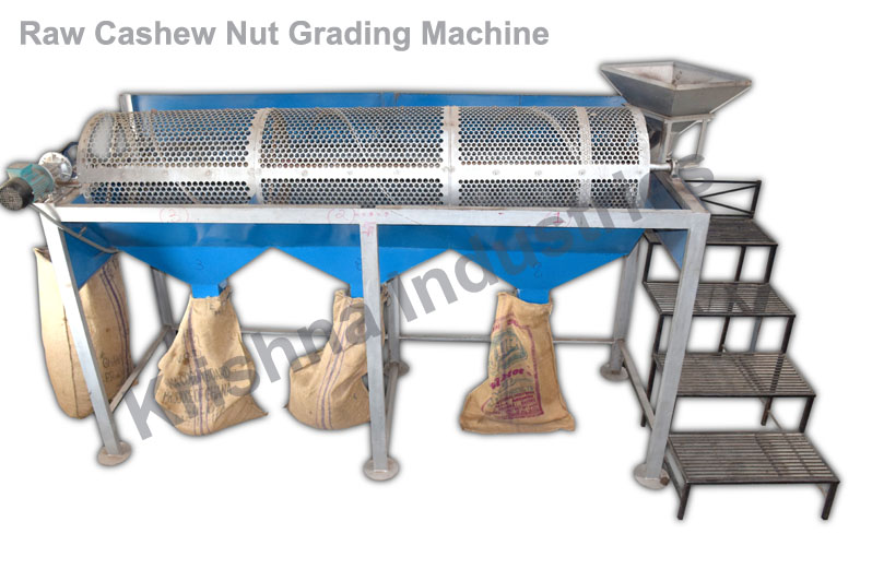 cashew kernels and shell separator